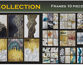 Frame Collection 10 pieces 3D model