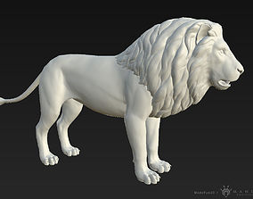 game-ready 3D Lion