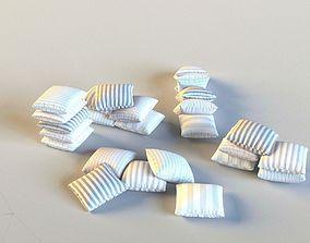 3D model Set of pillows