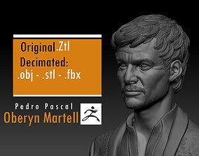 Pedro Pascal - Oberyn Martell - Game Of 3D printable model