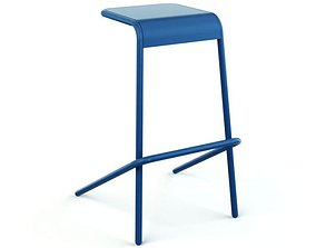 3D model Chair Four Leg Stool