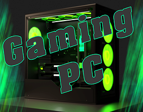 GAMING PC game 3D model