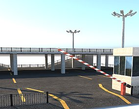 3D asset Two Storey Car Park 2