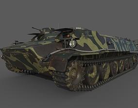 3D model MT-LB Camouflage