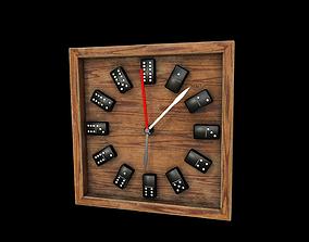3D model Domino clock