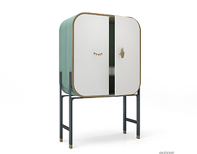 3D model Yabu Pushelberg cabinet
