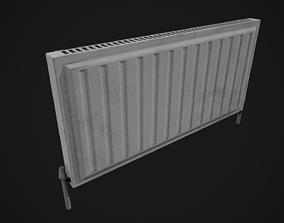 3D asset Low Poly Radiator