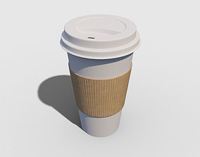 Coffee Cup Paper 3D model