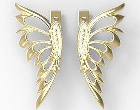 butterfly 3D printable model jewelry