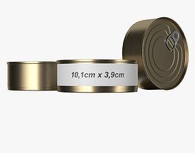 3D model tin can type6