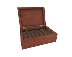 Cigar Box v1 001 3D model