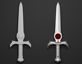 weapon sword 3D printable model