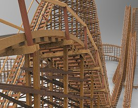 3D model El Toro Six Flags Great Adventure