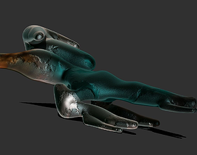 3D model Burnsedian Biological StarGunship