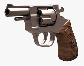 3D asset Revolver 001