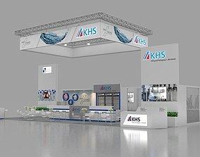 KHS 3d max booth design