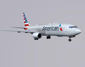 Boieng 737-800 American Airlines 3D asset