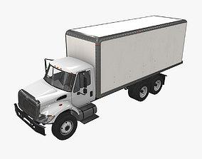 Box Van International 7400 3D asset