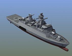 3D model Braunschweig Corvette