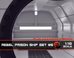 3D print model The Mandalorian - Rebel Prison Ship 5 - 3