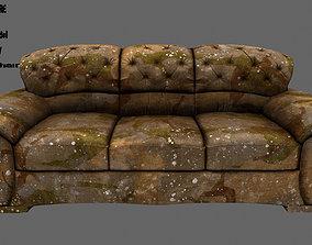 Armchair couch 3D asset