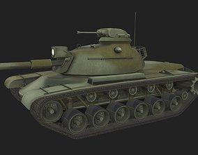 3D model M48 Patton