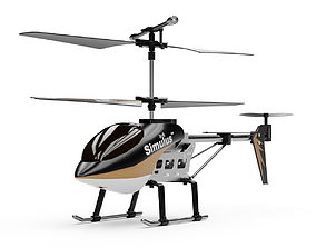 RC Helicopter 3D asset