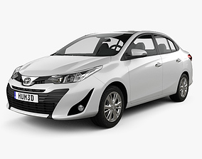 Toyota Vios 2018 3D model