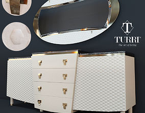 Nightstand Vogue Turri Z500L 3D