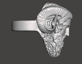 zeus high detailed ring 3D print model