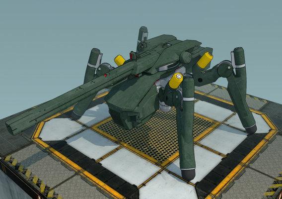 WIP Spider Tank