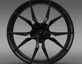 Lamborghini Aventador 50 AE rim 3D
