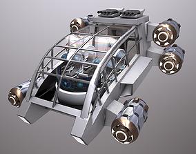 SciFi Spaceship Futuristic 3D model