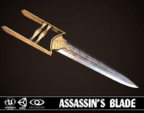 Assassin Blade 03 3D asset