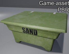 3D asset Sand reservoir box