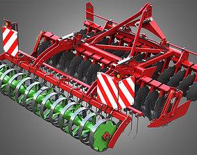 3D model Qualidisc Farmer 3000