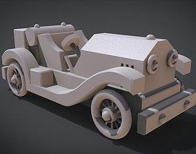 Roaring 20s Toy Sports Car 3D printable model