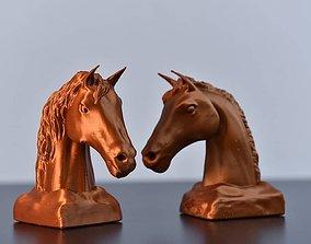 3D printable model Horse Bust