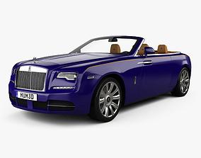 3D model Rolls-Royce Dawn with HQ interior 2017
