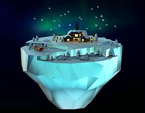 3D model Lapland