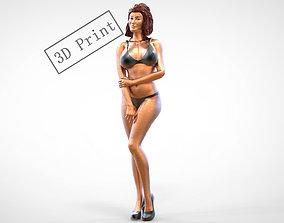 Pose N8 Attractive woman 1 64 3D printable model