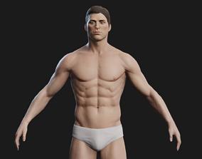 anatomical 3D alpha male