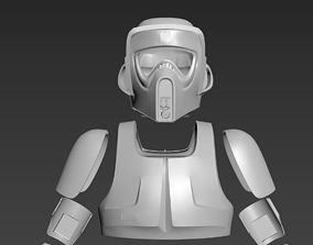 Star Wars imperial Scout Trooper 3D printable model 2