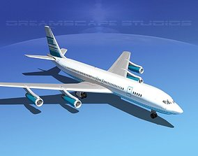 3D model Boeing 707 Corporate 6