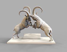 3D printable model Capricorn battle