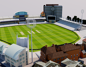 Trent Bridge Cricket Ground - Nottingham 3D