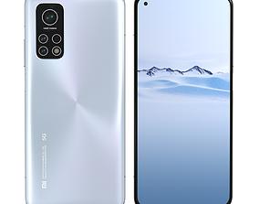 3D model Xiaomi Mi 10T Aurora Blue