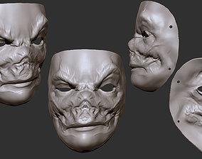 3D printable model Evil Mask
