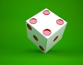 3D model simple dice