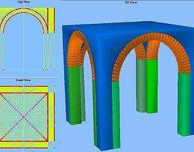Groin Vault 10x10x10 3D